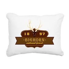 Bighorn National Park Cr Rectangular Canvas Pillow