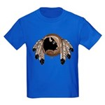 First Nations Metis Art Kid's T-Shirt Dark