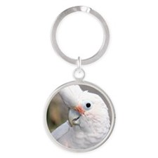 GOFFIN COCKATOO Round Keychain