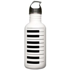 Piano Keys Sports Water Bottle