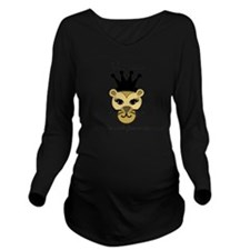 Lioness Long Sleeve Maternity T-Shirt