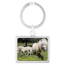 Mini Pony Landscape Keychain