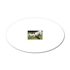 Mini Pony 12 20x12 Oval Wall Decal