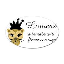 Lioness Wall Sticker