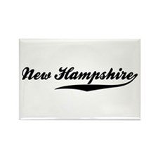 New Hampshire Rectangle Magnet (100 pack)