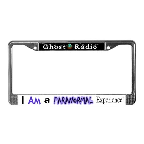 Ghost Radio's Paranormal Exp..License Plate Frame