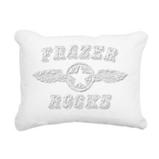 FRAZER ROCKS Rectangular Canvas Pillow
