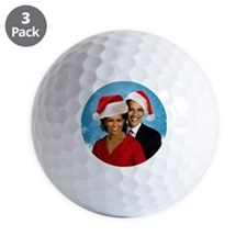 Obama Christmas Golf Ball