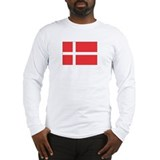 Denmark flag  Long Sleeve T-Shirt