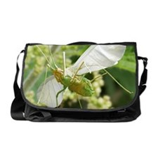 Aphid in flight Messenger Bag
