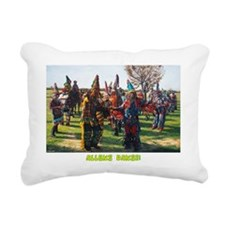 Allons danse! Dark cloth Rectangular Canvas Pillow