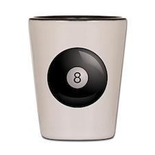 8ball Shot Glass
