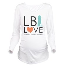 LBI LOVE  Long Sleeve Maternity T-Shirt