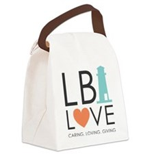 LBI LOVE  Canvas Lunch Bag
