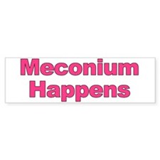 The Meconium Bumper Bumper Sticker