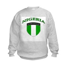 Nigerian soccer Sweatshirt