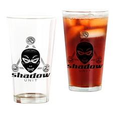 Shadow Unit logo Drinking Glass