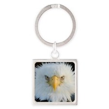 Eagle Square Keychain