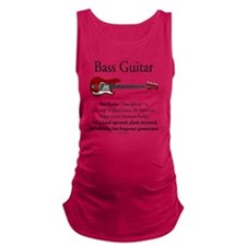 Bass Guitar LFG Maternity Tank Top