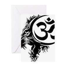 Singh Aum 1 Greeting Card