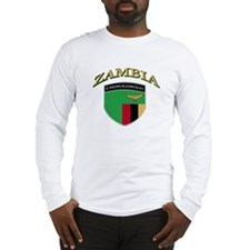 Zambian soccer Long Sleeve T-Shirt