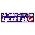 Air Traffic Controllers Against Bush sticker