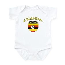 Ugandan soccer Infant Bodysuit