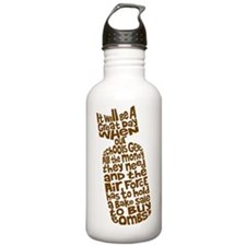 Education Bomb Water Bottle