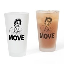 Move Black Drinking Glass