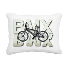 BMX Graphite Bikes Graph Rectangular Canvas Pillow