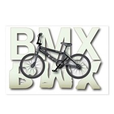 BMX Graphite Bikes Graphi Postcards (Package of 8)