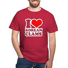 love Korean Clams T-Shirt