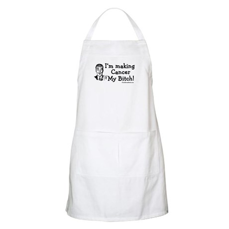 Making Cancer my bitch BBQ Apron