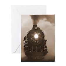 Christmas Train 0.59 Greeting Card