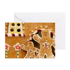 Gingerbread men Greeting Card