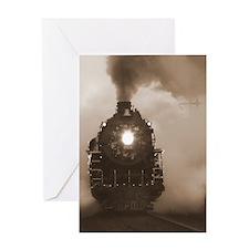 Christmas Train .69 Greeting Card