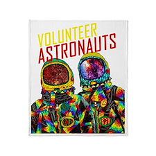 Volunteer Astronauts Shirt Throw Blanket