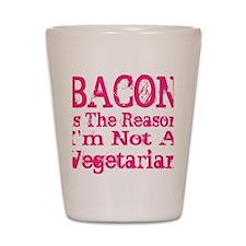 Bacon 4 Shot Glass