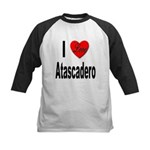 I Love Atascadero Kids Baseball Jersey
