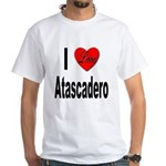 I Love Atascadero White T-Shirt