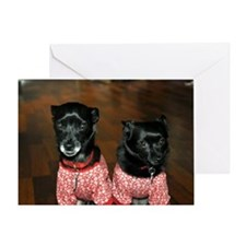 Toby and Tessa Greeting Card