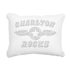 CHARLTON ROCKS Rectangular Canvas Pillow