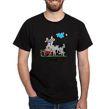 Cartoon Cow by Lorenzo T-Shirt