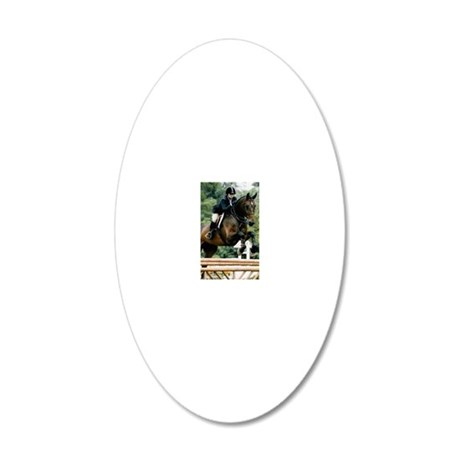 LT Forever Over Fences 20x12 Oval Wall Decal