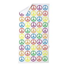 Peace Symbols Beach Towel