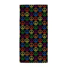 Peace Symbols Beach Towel
