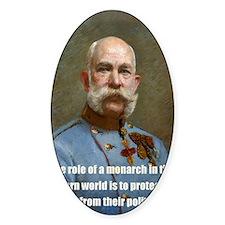 Franz Josef I Decal