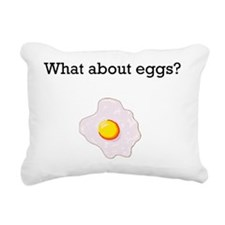 What about eggs2 Rectangular Canvas Pillow