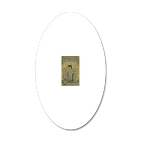 33 20x12 Oval Wall Decal