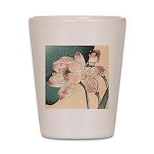Botanical Lotus Flower Shot Glass